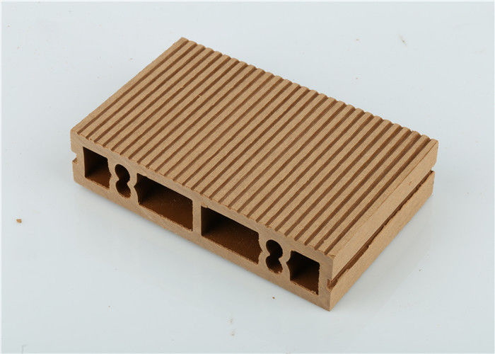 Fiber Plastic Wood Polymer Composite Siding , Outdoor Composite Wood Board